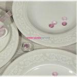 Набор тарелок Lorel FBC 02010016/3 на 6 персон, 18 предметов