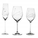 Декорированная посуда из стекла
