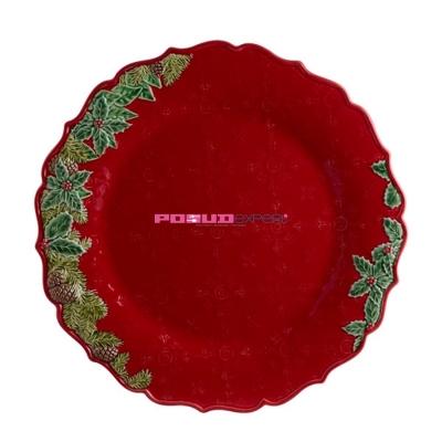 """Блюдо круглое 35 см, """"Рождественская корона"""", Coroa de Natal"""