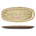Блюдо Mossa, 28 х 12.5 х h 2.5 см, овальное, Cosy&Trendy
