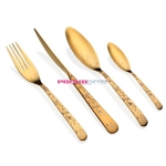 Набор столовых приборов Herdmar  ALFA 1OLD GOLD, 24 предмета