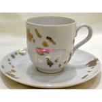 Набор кофейный (6 чашек с блюдцами) Quartzo