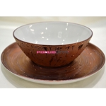Пиала с блюдцем 13,5х5,5 см Rosatus