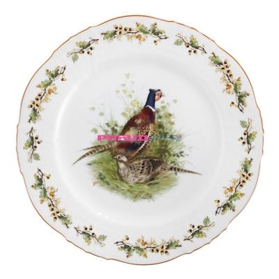 Тарелка для основного блюда, 25 см, Bayreuth Flugwild Fasan