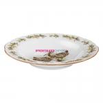 Суповая тарелка, 23.4 см, Bayreuth Flugwild Schnepfe