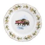 Тарелка для завтрака, 20 см, Bayreuth Haarwild Wildschwein