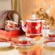Блюдо для масла, 20.5 см, Holiday Christmas Wonderland