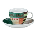 Чашка для капучино, VIP. Costa Rica