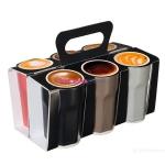 Набор чашек для эспрессо 6 шт., Crazy Mugs, 0,1 л