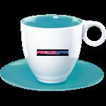 Кофейная чашка с блюдцем Colour-it