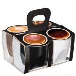 Набор чашек для эспрессо multicolor, Corretto,0,075 л