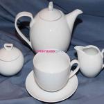 Сервиз чайный Ivonne 0000 на 6 персон, 15 предметов