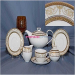 Сервиз чайный Ivonne 9968 на 12 персон, 27 предметов