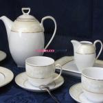 Сервиз чайный Ivonne E359 на 12 персон, 27 предметов