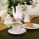 Сервиз кофейный Rococo 3604 на 12 персон, 27 предметов