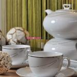 Сервиз чайный Ivonne E-615 на 6 персон, 15 предметов