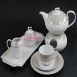 Сервиз чайный Ivonne E524 на 6 персон, 15 предметов