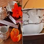 Сервиз чайный Bolero E492 на 6 персон, 15 предметов