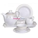 Сервиз чайный Ivonne E359 на 6 персон, 15 предметов