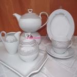 Сервиз чайный Ivonne E520 на 6 персон, 15 предметов