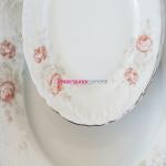 Набор тарелок Rococo G264 на 6 персон, 18 предметов