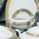 Сервиз кофейный Aurora/Planet KS-0346 на 12 персон, 27 предметов